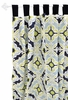 Starburst in Kiwi Curtain Panels - Set of 2