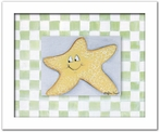 Starfish Personalized Framed Canvas Reproduction