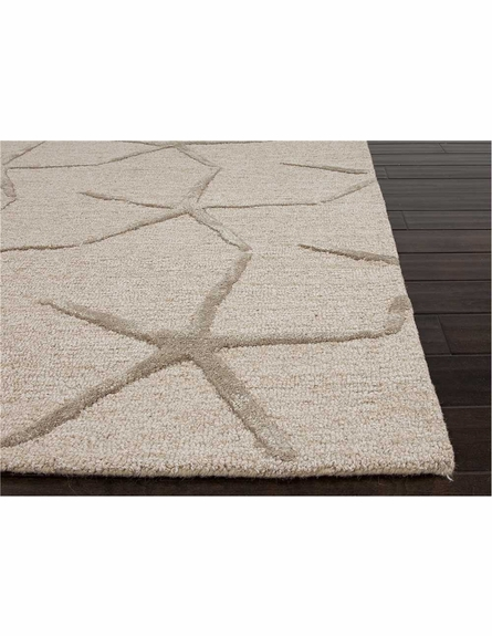 Starfishing Rug in Beige