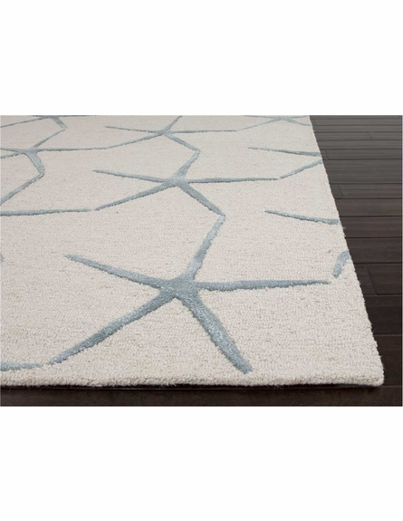 Starfishing Rug in Ivory