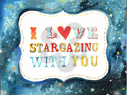Stargazing Canvas Wall Art