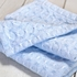 Starry Nights Baby Blanket - Pale Blue