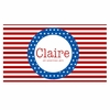 Stars and Stripes Personalized Placemat