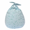 Stars Light Blue Handkerchief Bean Bag