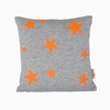 Stars Organic Cotton Throw Pillow