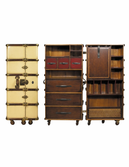 Stateroom Armoire in Ivory