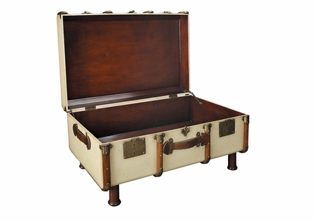 Stateroom Trunk in Ivory