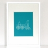 Steamin' Train Art Print