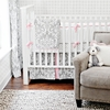 Stella Gray Crib Bedding Set