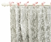 Stella Gray Curtain Panels - Set of 2