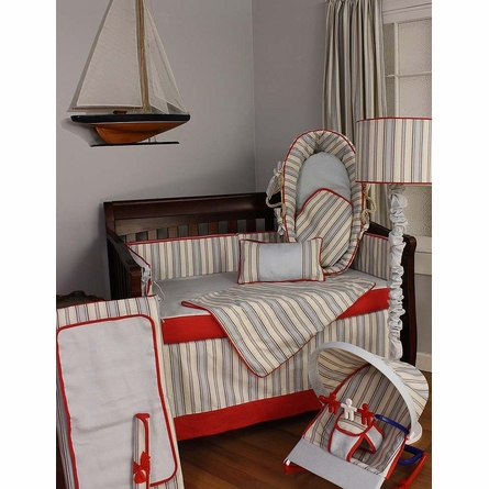 Stellar Stripes Crib Bedding Set