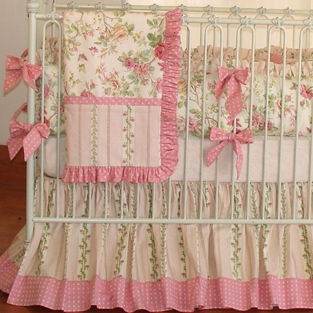 Stephanie Anne Crib Linens