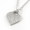 Sterling Silver Simple Heart Pendant