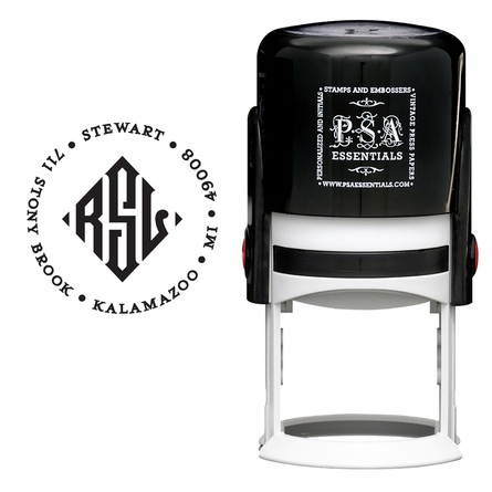 Stewart Personalized Self-Inking Stamp