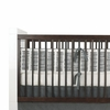 Sticks Crib Bumper in Pewter