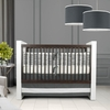 Sticks Three-Piece Crib Set in Pewter