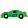 Stock Car Green Drawer Pull