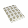 Stone Bird Fitted Organic Crib Sheet