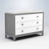 Stonington 3 Drawer Changer