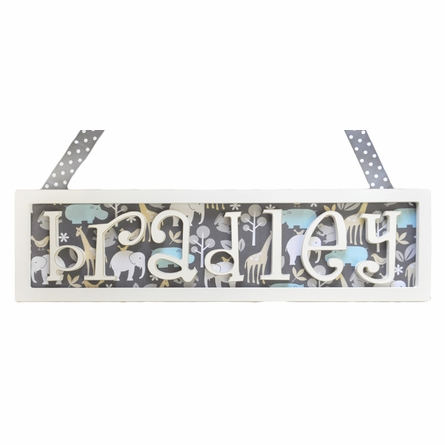 Straight Edge Name Plaque