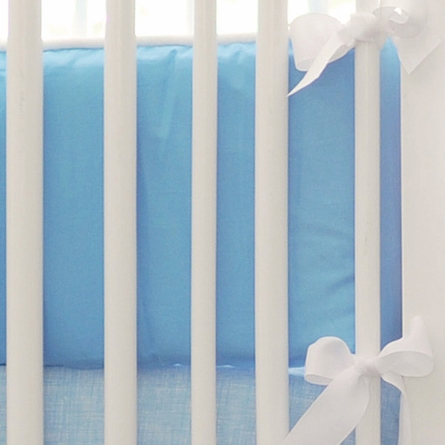 Street of Dreams in Blue Crib Bedding Set