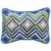 Street of Dreams in Blue Throw Pillow