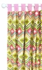 Street of Dreams in Pink Curtain Panels - Set of 2