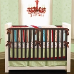 Stripe Boys Crib Bedding