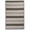Stripe It Rug in Silver
