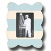 Stripe Scallop Sky Picture Frame