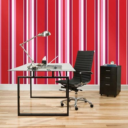 Stripe Wall Decals - Choose Your Color