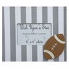 Striped Football Frame