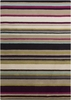 Striped Harlequin Rug in Pink