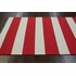 Striped Rug in Red