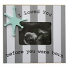 Striped Star Sonogram Frame