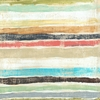 Stripes Vintage Art Print on Wood