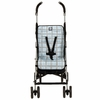 Stroller Liner in Blue Plaid
