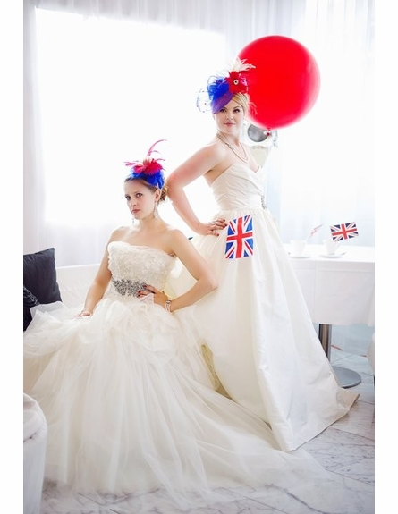 Strong Intuition British-Inspired Fascinators