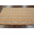 Stuart Plush Cotton Rug Orange