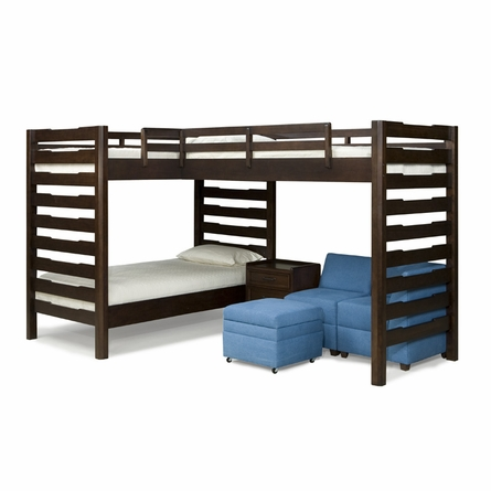 Studio Triple Corner Loft Bed