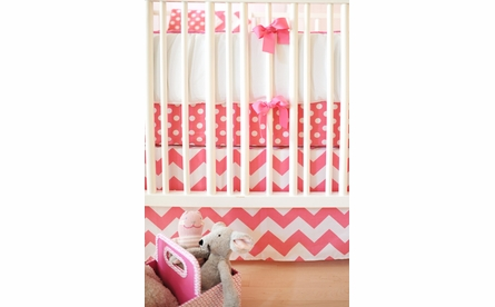 Sugarland Dot Crib Sheet