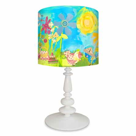Summer Birdies Lamp