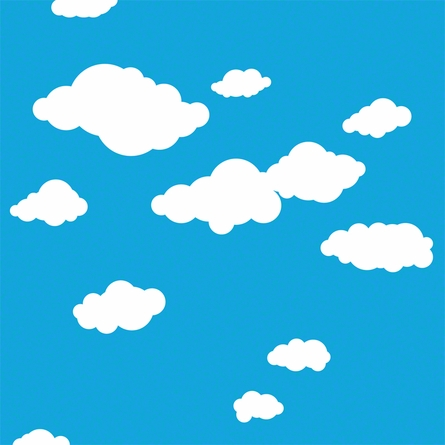 Summer Clouds Removable Wallpaper