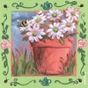 Summer Daisies Canvas Wall Art