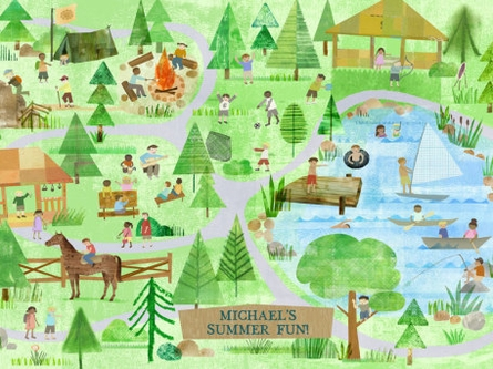 Summer Fun Canvas Wall Art