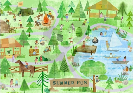 Summer Fun Placemat