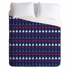 Summer Pattern Luxe Duvet Cover