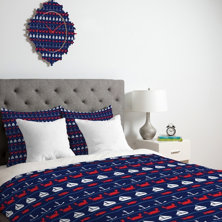 Summer Pattern Lightweight Duvet Cover