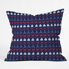 Summer Pattern Throw Pillow