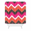 Summer Tango Chevron Shower Curtain